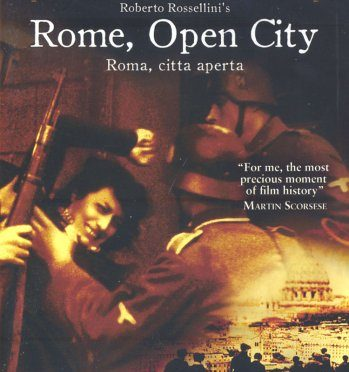 The Greatest films of all time:  35. Rome, Open City (1945)(Italy)