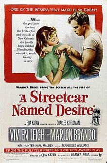 The Greatest films of all time:  42.A Streetcar Named Desire (1951)(USA)