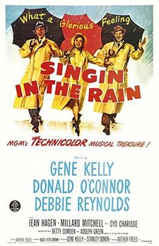 The Greatest films of all time: 6.Singin' in the Rain (1952)(USA)