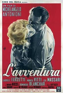 The Greatest films of all time:  55. L' Avventura (1960)(Italy)