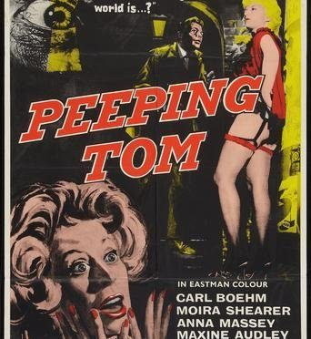 The Greatest films of all time:  55. Peeping Tom (1960)(UK)