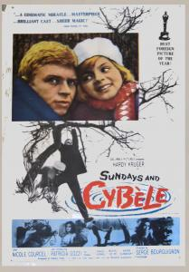 The Greatest films of all time:  57. Sundays and Cybele (1962) (France)