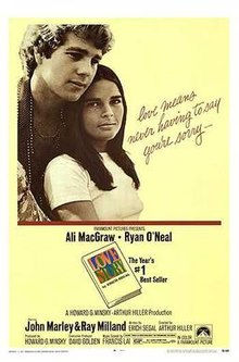 The Greatest films of all time: 62. Love Story (1970) (USA)