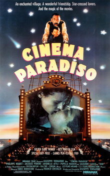 The Greatest films of all time: 77. Cinema Paradiso (1988) (Italy)
